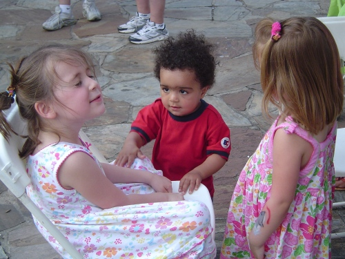Tatum, Alexander and Rubie at Artfest 2008