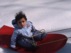 Sledding - Killington, March 2008