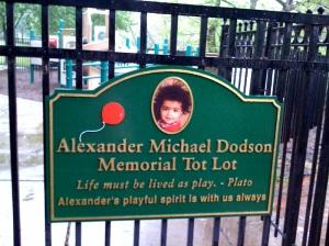 Alexander Michael Dodson Memorial Tot Lot